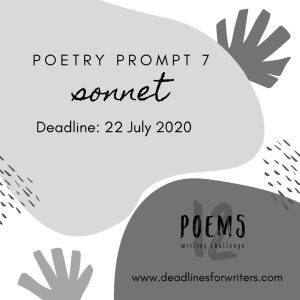 2020 Poetry Prompts 7 Sonnet