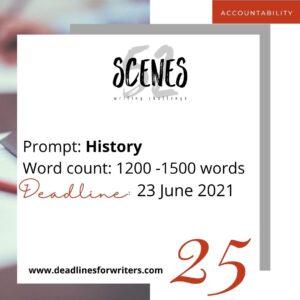Week 25 Prompt 25 History
