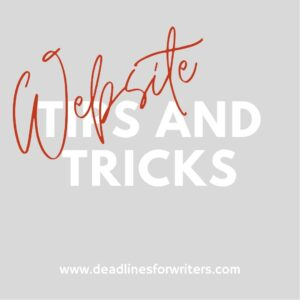 Tips and Tricks Website